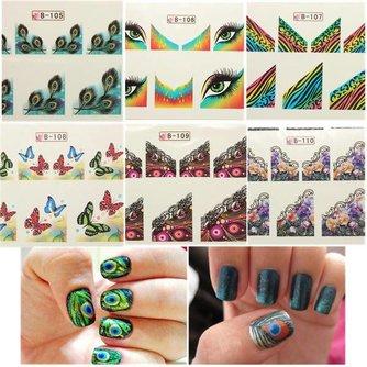 Nagel Stickers Vlinder Online Bestellen? I MyXLshop (Tip)