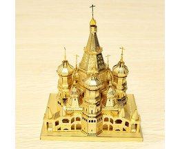 3D Puzzel van een Kathedraal