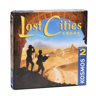 Lost Cities Bordspel