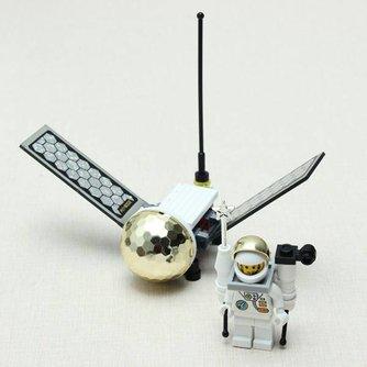 Enlighten Bouwblokjes Satelliet Libel Vorm