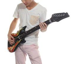 Opblaasbare gitaar Party Gadget 40 inch