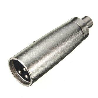 3P XLR Male Plug naar Female voor Microfoon Versterker