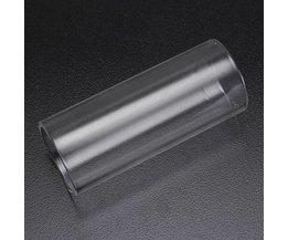 Gitaarslide voor elektrische Gitaar in Plexiglass