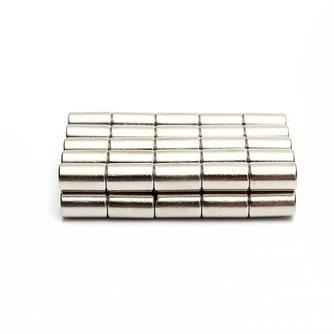 50 Stuks Sterke Neodymium Cilindermagneten