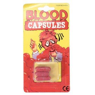 3 Nep Bloedcapsules voor Feesten en Partijen