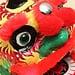 Chinese traditionele dansende leeuw