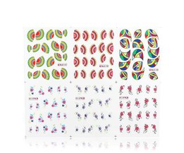 Nail Art Sticker Bloem