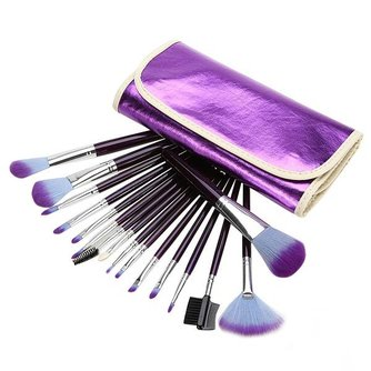 Make up Kwast Set (16 stuks)