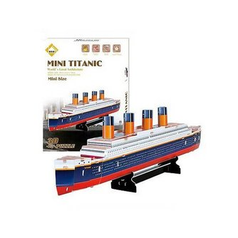 3D Puzzel Titanic