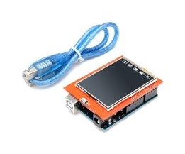 UNO R3 2.4 Inch LCD Touchscreen Module voor Arduino