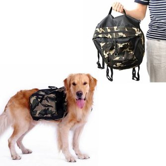Rugtas voor Hond