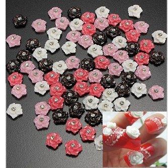 Roos Strassteentjes voor Nail Art
