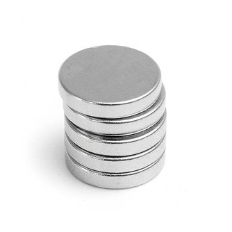 Krachtige Magneten met 2mm dikte