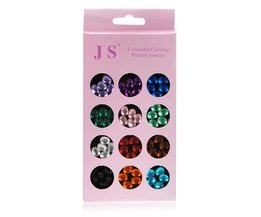 3D Glitter Nagelstickers
