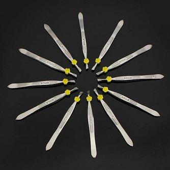 Set met Pincetten voor Wenkbrauwen