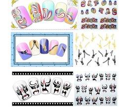 Vrolijke Nail Art Stickers