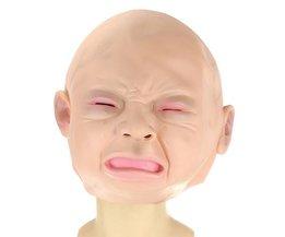 Masker Huilend Vrouwtje of Kind