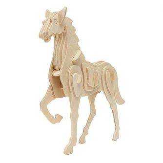 3D Puzzel Houten Paard
