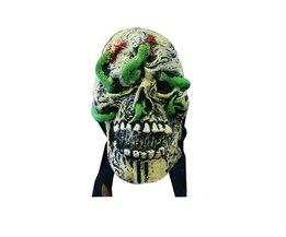 Griezelig Schedel Masker
