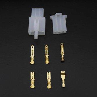 2.8mm Connector Driezijdige Aansluiting
