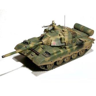 Model Leger Tank met Motor