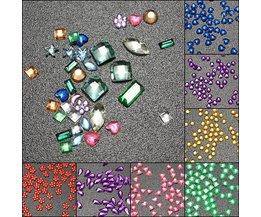Gekleurde Steentjes voor Nail Art