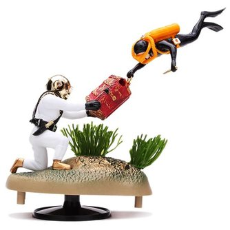 Aquarium Ornament Schatgravers