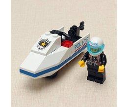 Enlighten Bouwsteentjes Politie Motorboot