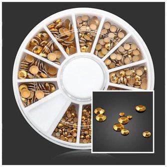 Gouden Steentjes voor Nail Art
