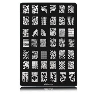Nail Art Print Stempels