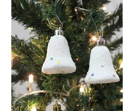 Kerstklokjes voor in de Kerstboom 6 stuks