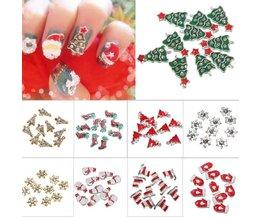 3D-Decoraties voor Kerst-Nail Art