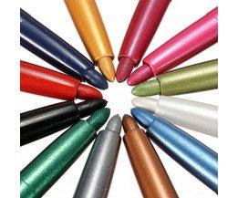 Make-Up Pennen in 12 Kleuren