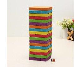 54 Houten Speelblokken voor Kinderen