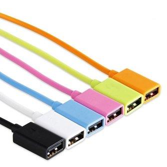 OTG Kabel Micro Dual Connector voor Smartphones