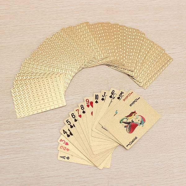 Gouden Speelkaarten