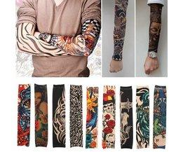 Unisex Nylon Tattoo Mouw