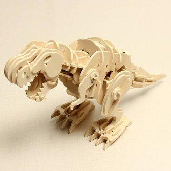 D200 Spraakgestuurde 3D Dinosaurus Puzzel