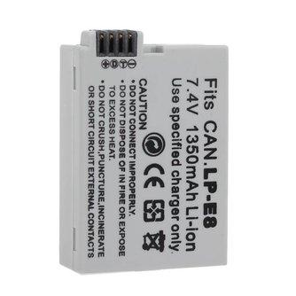 Batterij Oplaadbaar voor Canon
