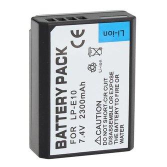 Batterij voor Canon Fototoestel