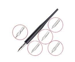 Nagellak Pen met 5 koppen