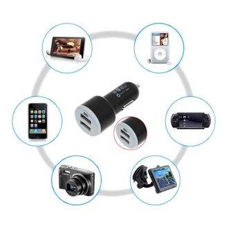 Dubbele USB Oplader voor in de Auto