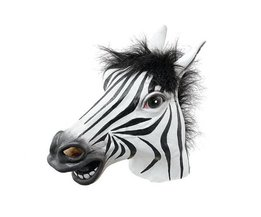 Latex Zebra Masker