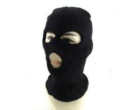 Zwart Ski Masker