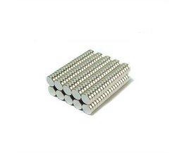 Ronde Neodymium Magneetjes (8 Stuks)