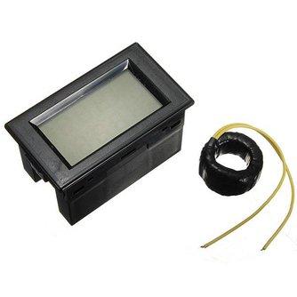 Digitale voltmeter voor de auto