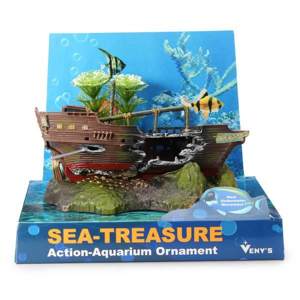 Aquarium decoratie schip kopen?   Online Internetwinkel