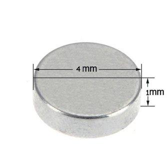 Kleine magneetjes Neodymium 5 Stuks