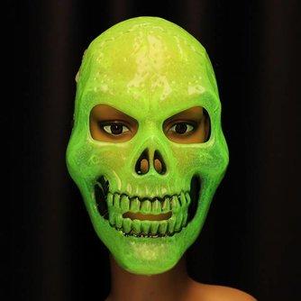 Lichtgevend Halloween Masker