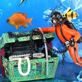 Aquarium Decoratie Duiker